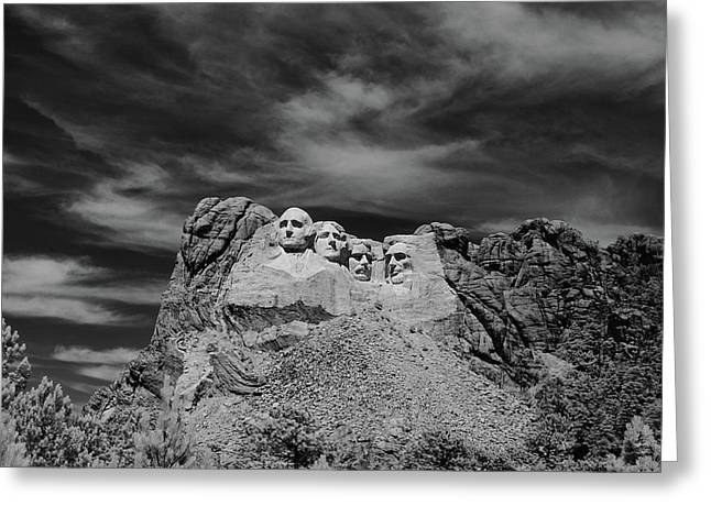 1960s Mount Rushmore Greeting Card