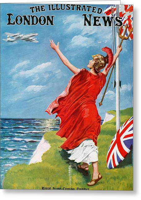 1960s Uk Illustrated London News Greeting Card by The Advertising Archives
