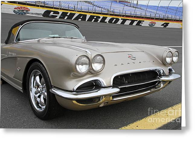1962 Chevy Corvette Greeting Card