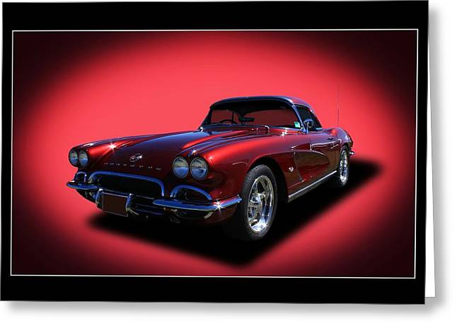 Greeting Card featuring the photograph 1962 Corvette by Keith Hawley