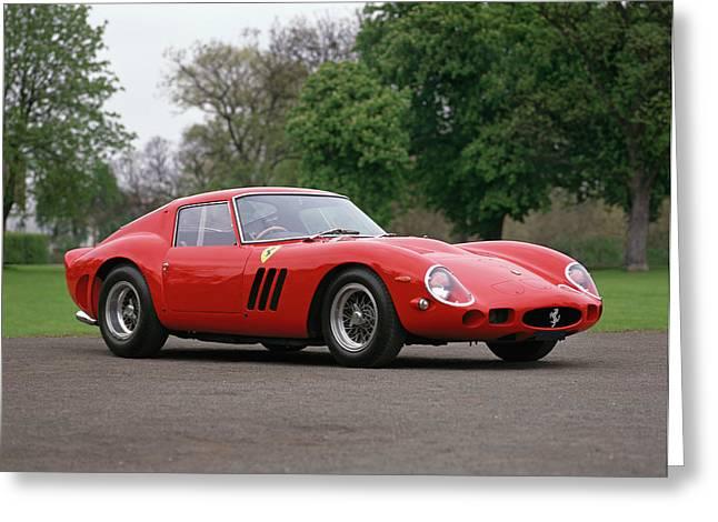 1962 Ferrari 250 Gto Scaglietti Greeting Card