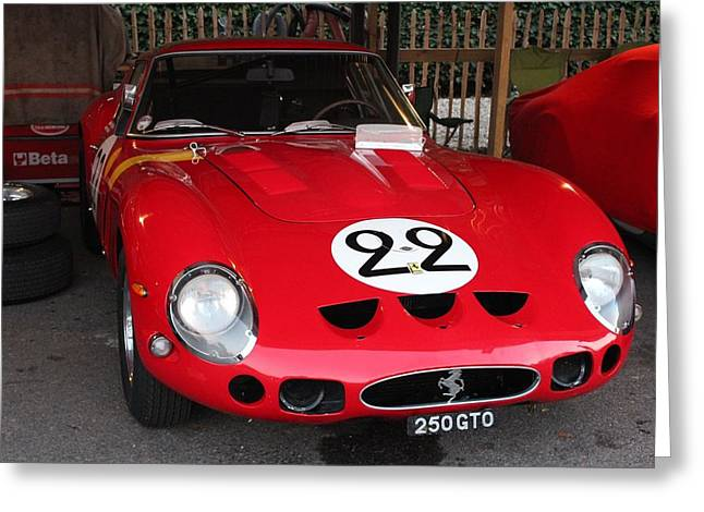1962 Ferrari Gto Greeting Card
