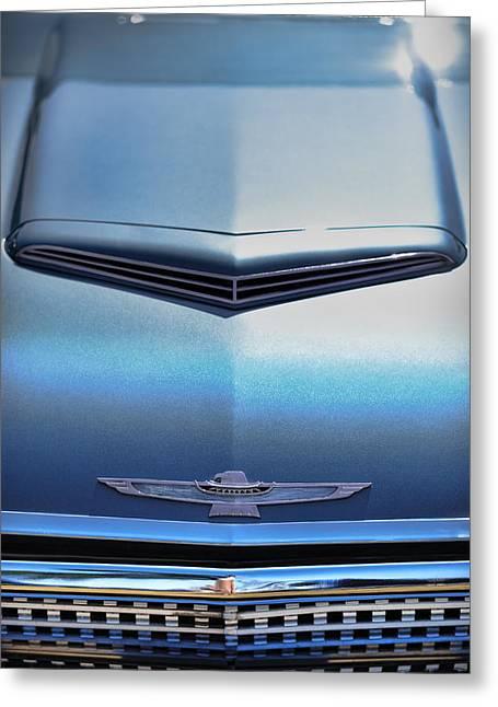 1962 Ford Thunderbird Greeting Card by Gordon Dean II