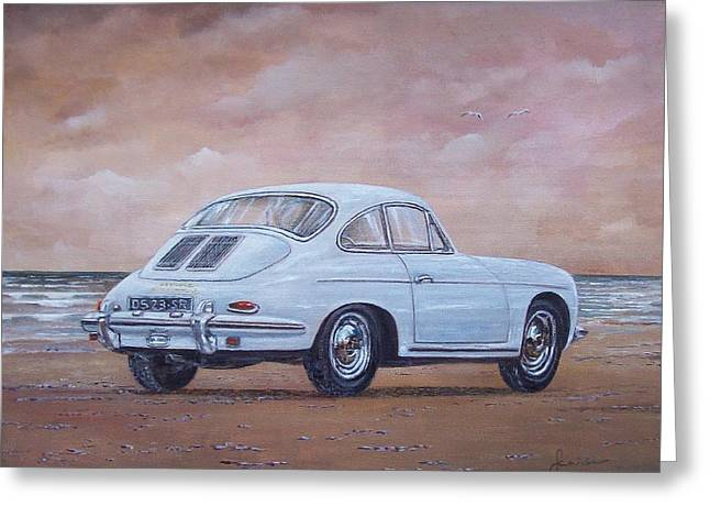 1962 Porsche 356 Carrera 2 Greeting Card