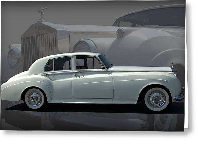1962 Rolls Royce Silver Cloud Greeting Card