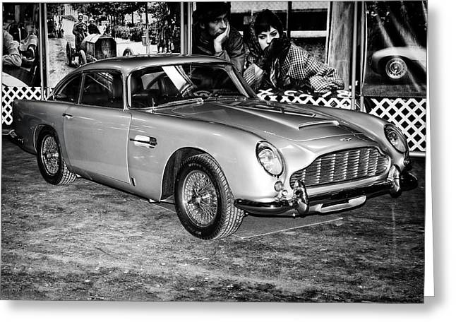 1964 Aston Martin Db5 Greeting Card
