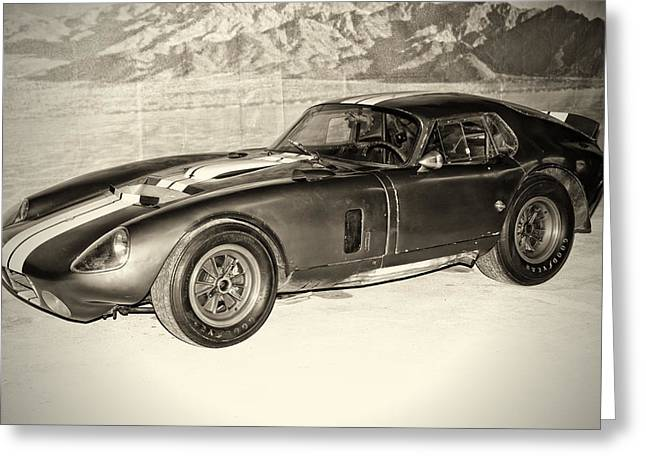 1964 Cobra Daytona Coupe Greeting Card