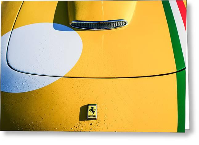 1964 Ferrari 250 Gt Lusso -0069c Greeting Card by Jill Reger
