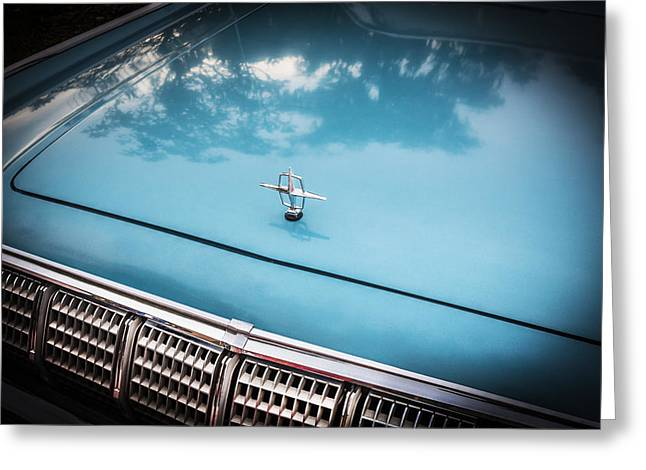 1964 Lincoln Continental Convertible   Greeting Card by Rich Franco
