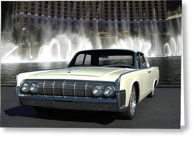 1964 Lincoln Continental Greeting Card