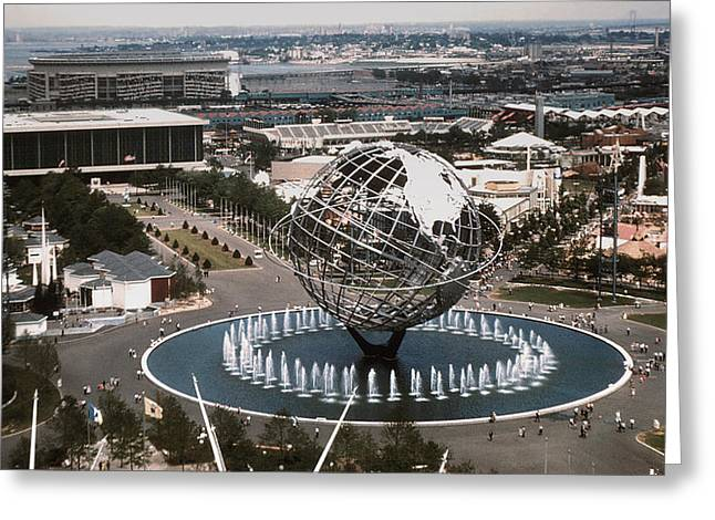 1964 Worlds Fair New York City Greeting Card by Kevin Snider