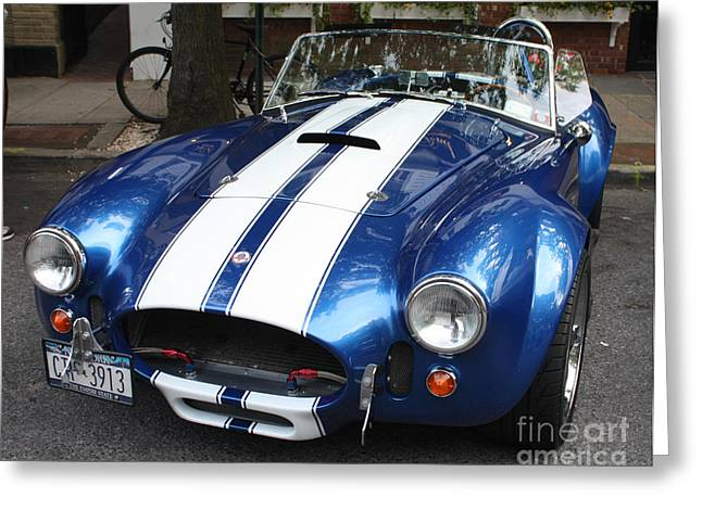 1965 Cobra Shelby Greeting Card by John Telfer
