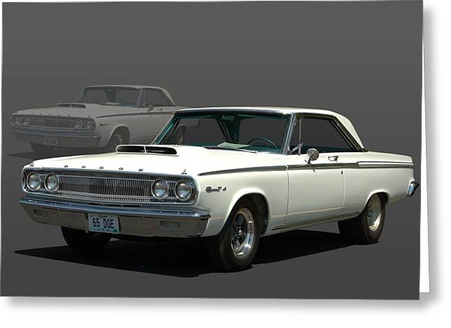 1965 Dodge Coronet 440 Greeting Card