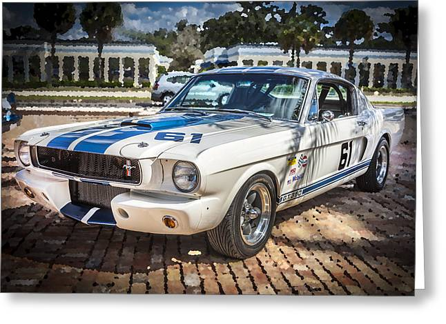 1965 Ford Shelby Mustang  Greeting Card