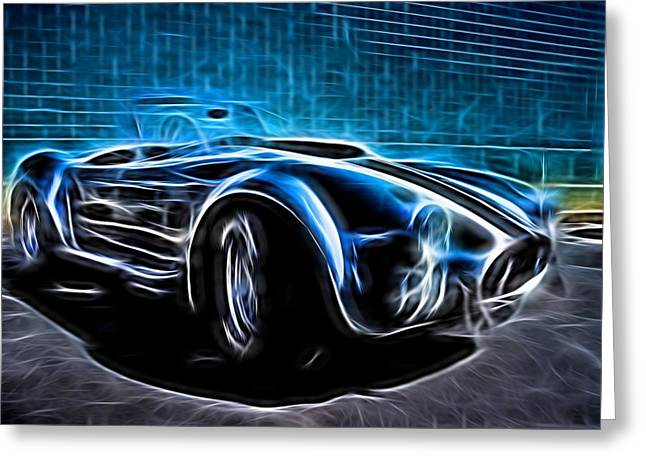 1965 Shelby Cobra - 4 Greeting Card by Becca Buecher