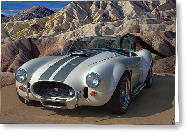 1965 Shelby Cobra Replica 427 Greeting Card