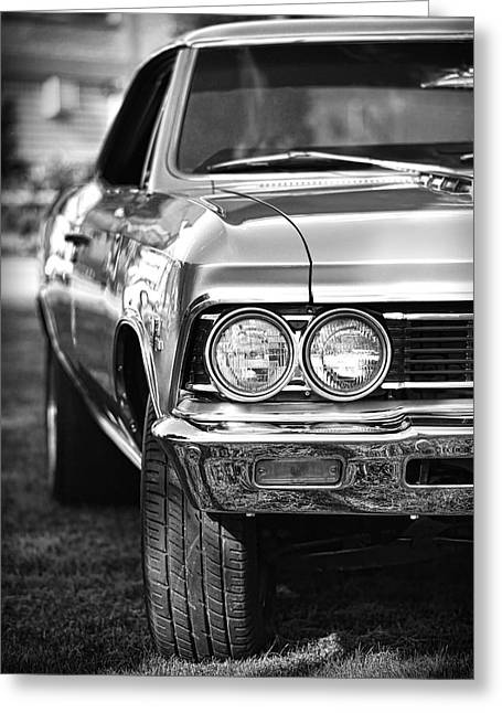 1966 Chevrolet Chevelle Ss 427 Greeting Card