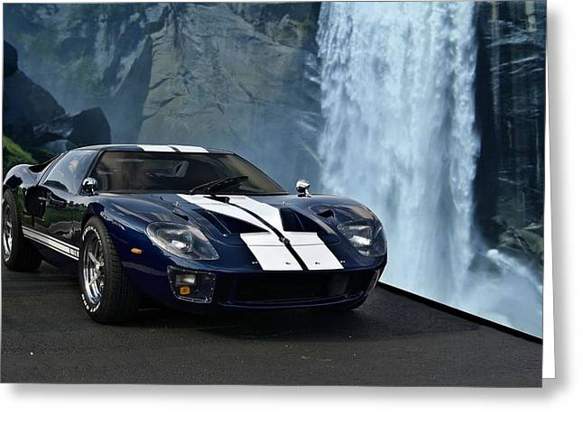 1966 Ford Gt 40 Greeting Card