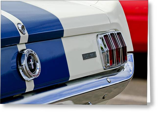 1966 Shelby Gt 350 Taillight Greeting Card by Jill Reger
