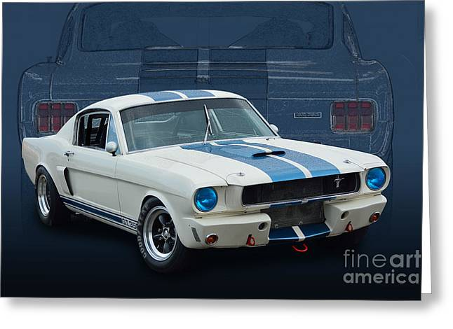 1966 Shelby Gt350 Greeting Card