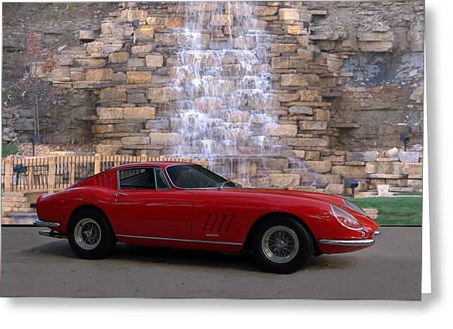 1967 Ferrari 275 Gtb Greeting Card