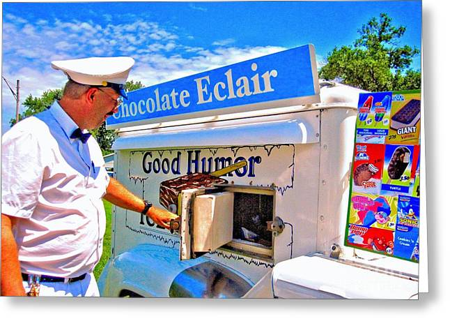 1967 Icecream Truck Greeting Card