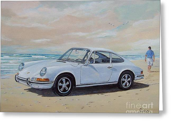 1967 Porsche 911 S Coupe Greeting Card