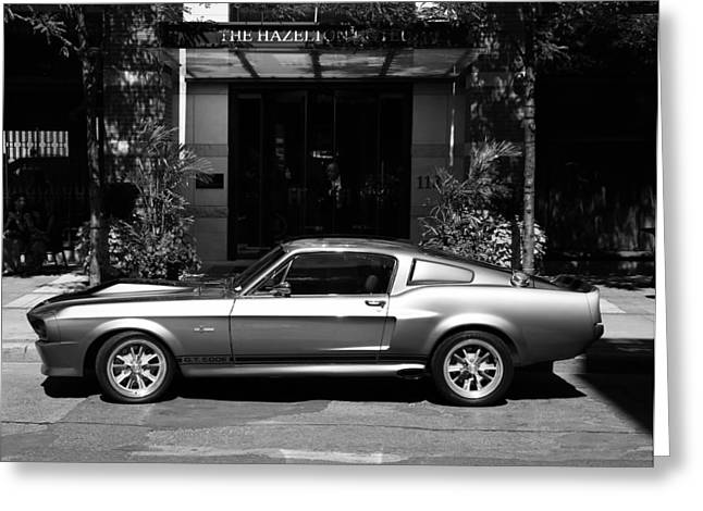 1967 Shelby Mustang B Greeting Card