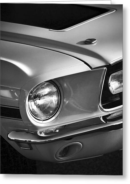 1968 Ford Mustang Gt/cs Greeting Card by Gordon Dean II