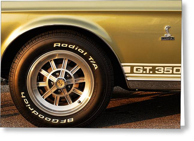 1968 G.t. 350 Shelby Cobra Ford Mustang Greeting Card by Gordon Dean II