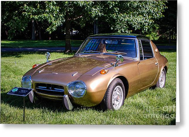 1968 Toyota Sports 800 Greeting Card