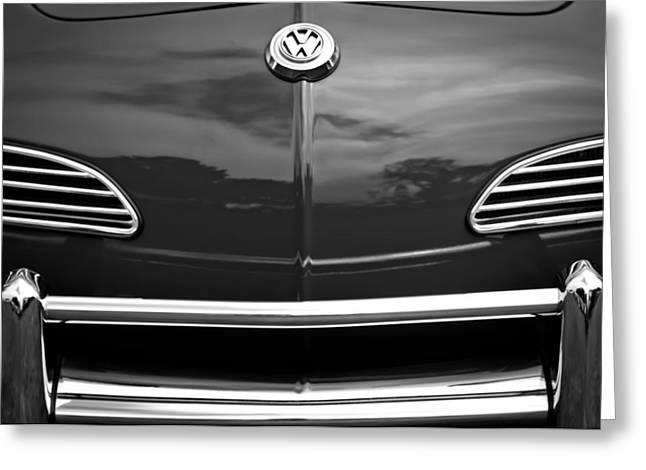 1968 Volkswagen Karmann Ghia Convertible Greeting Card