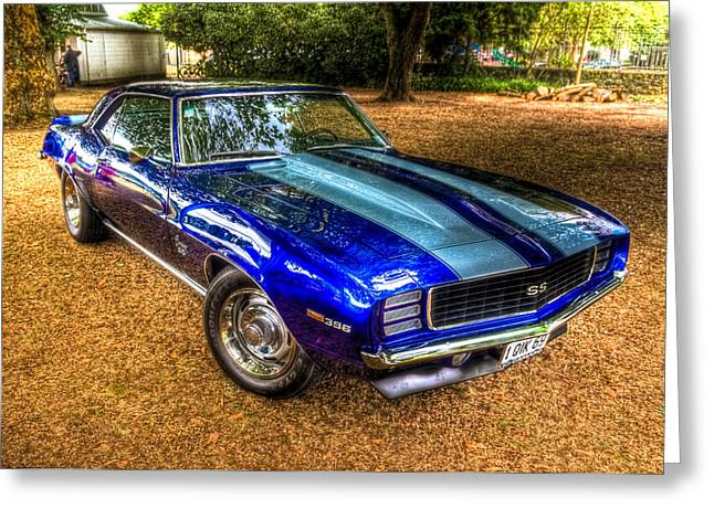 1969 Chevrolet Camaro 396 Greeting Card by Phil 'motography' Clark
