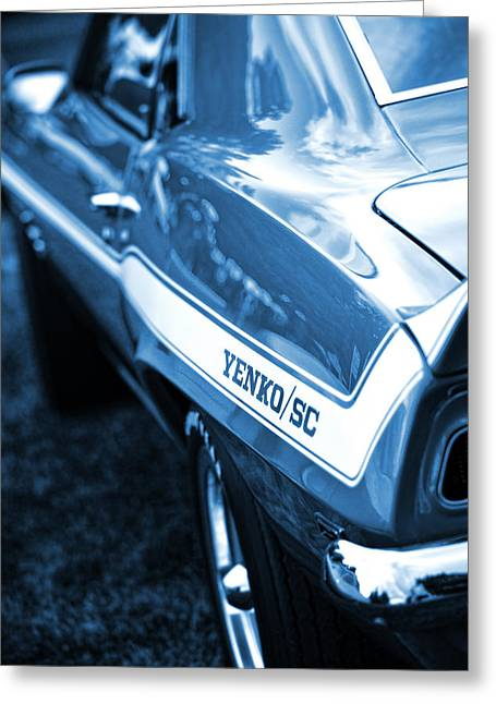 1969 Chevrolet Camaro Yenko Sc 427 Greeting Card by Gordon Dean II