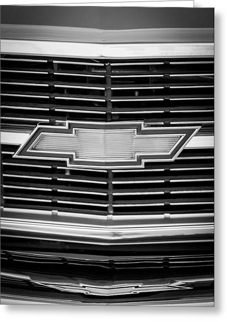 1969 Chevrolet Chevelle Grille Emblem Greeting Card by Jill Reger
