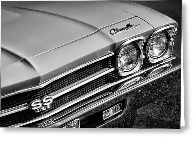 1969 Chevrolet Chevelle Ss 396 Greeting Card