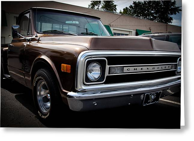 1969 Chevy Pickup Greeting Card