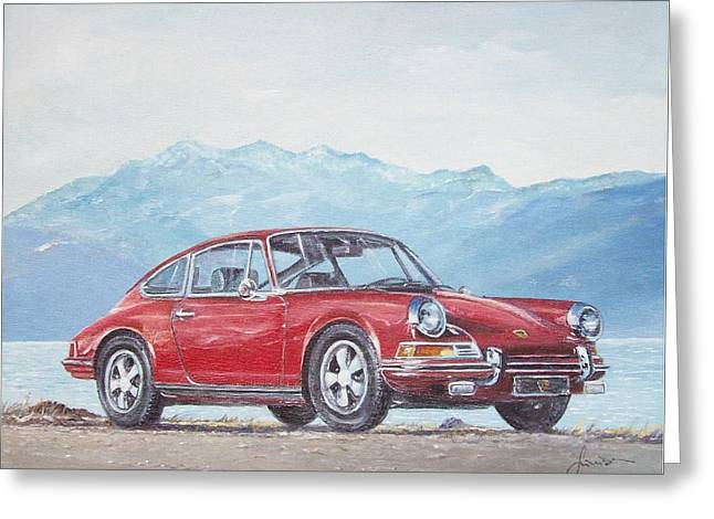 1969 Porsche 911 2.0 S Greeting Card