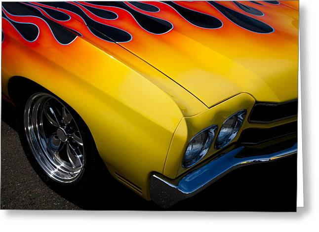 1970 Chevrolet Chevelle Greeting Card by David Patterson