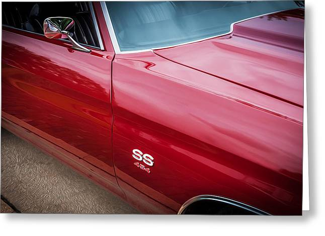 1970 Chevy Chevelle 454 Ss Painted  Greeting Card