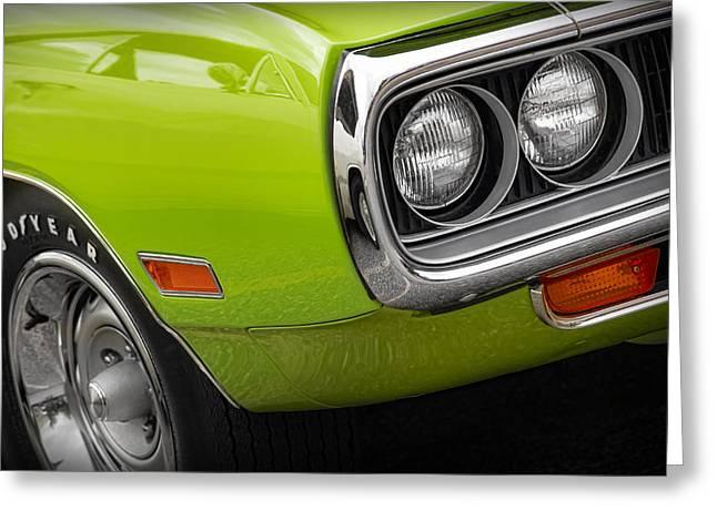 1970 Dodge Coronet R/t Greeting Card by Gordon Dean II