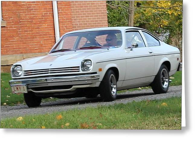 1971 Chevrolet Vega Greeting Card