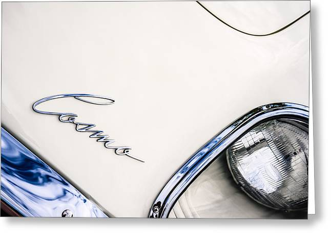 1971 Mazda Cosmo -0706c Greeting Card by Jill Reger