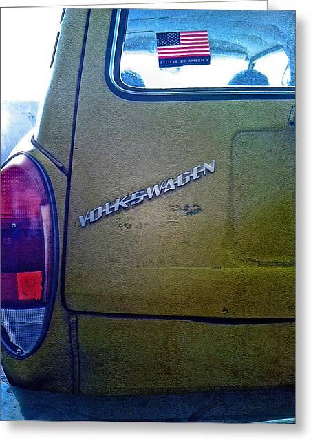 1972 Volkswagen Squareback Greeting Card