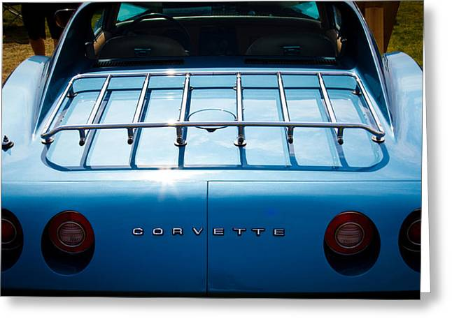 1974 Chevy Corvette Greeting Card by David Patterson
