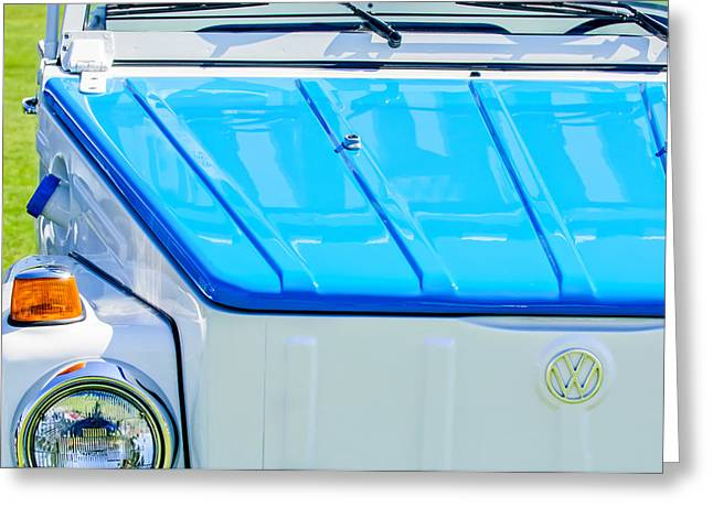 1974 Volkswagen Thing Acapulco Beach Car -3409c Greeting Card by Jill Reger