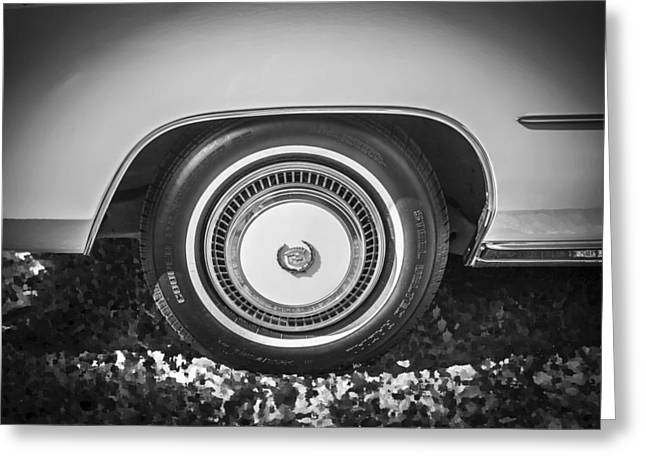 Cadillac Hubcap Greeting Cards   Fine Art America on caddilac eldorado, custom eldorado,