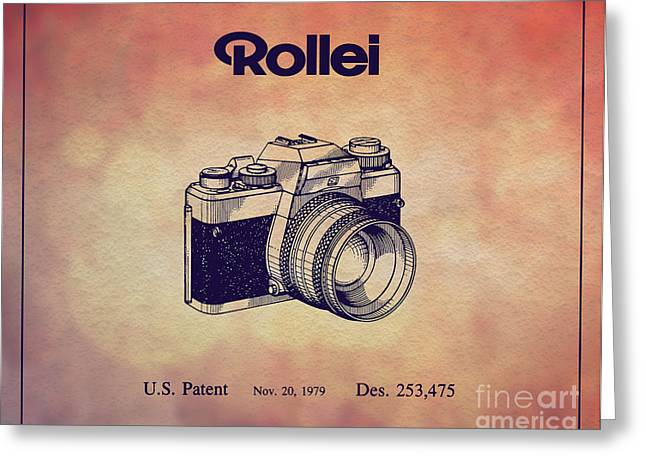 1979 Rollei Camera Patent Art 1 Greeting Card