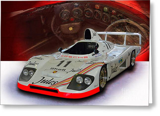 1981 Porsche 936/81 Spyder Greeting Card
