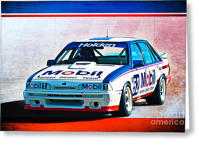 1987 Vl Commodore Group A Greeting Card by Stuart Row